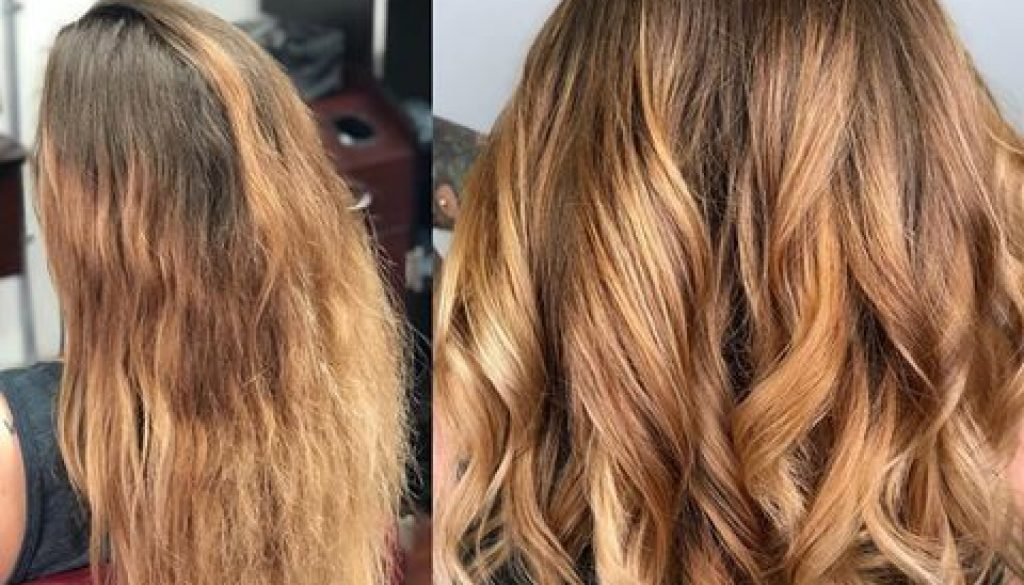 healthy hair transformation