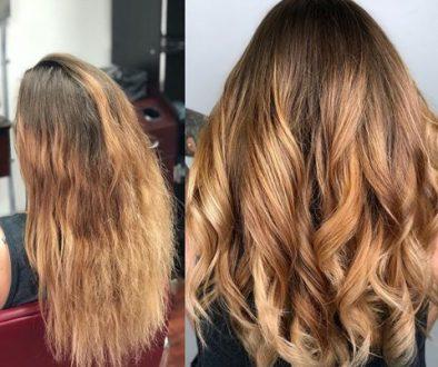 healthy hair transformation