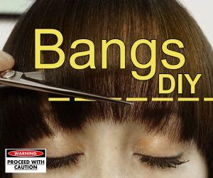 DIY Bangs